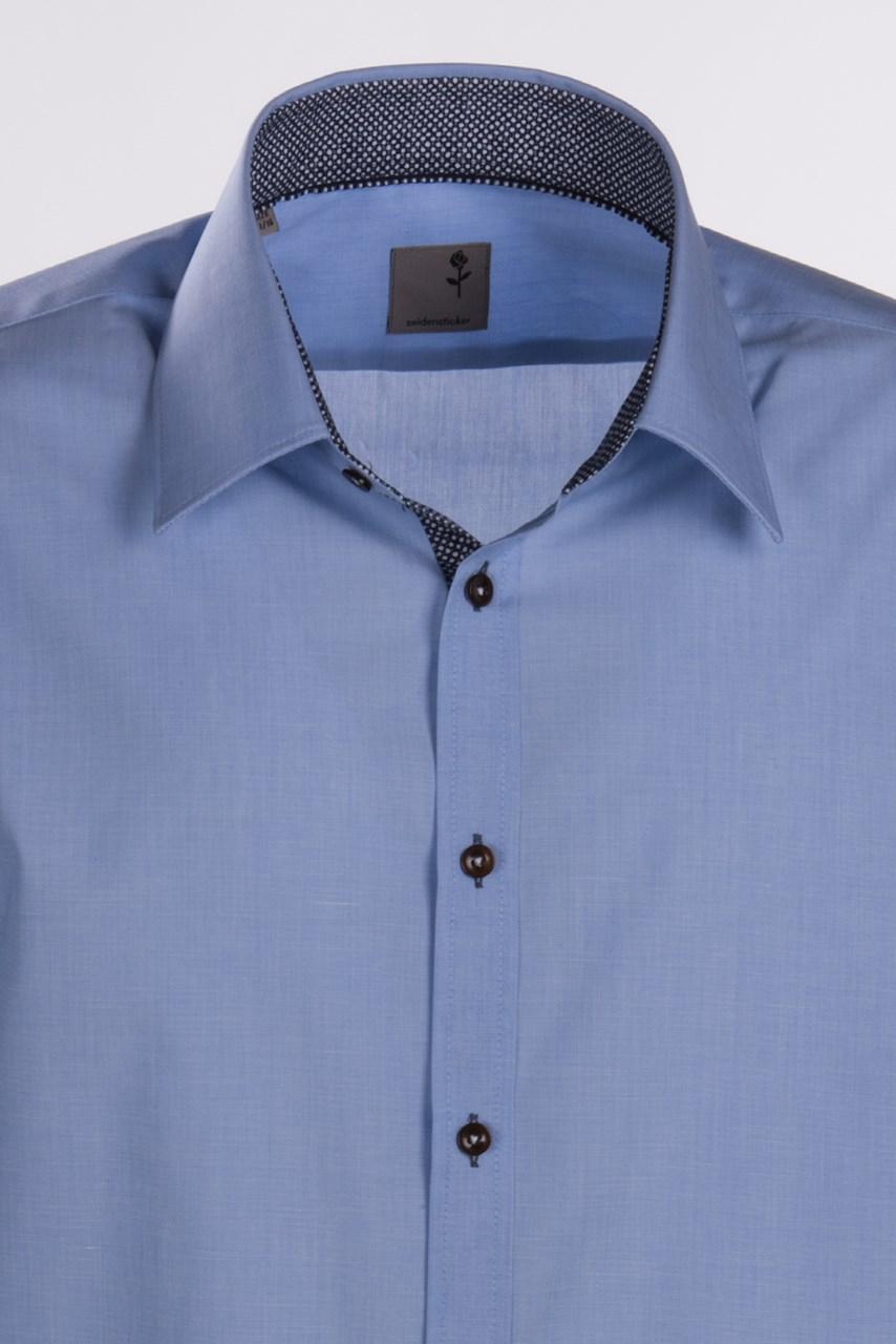 ... Obrázek Modrá pánská košile SEIDENSTICKER 21c07e092d
