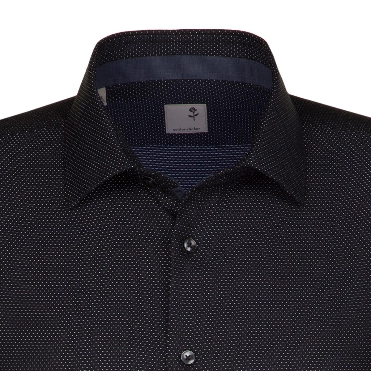 ... Obrázek Šedá pánská košile SEIDENSTICKER řady business 56caf82713