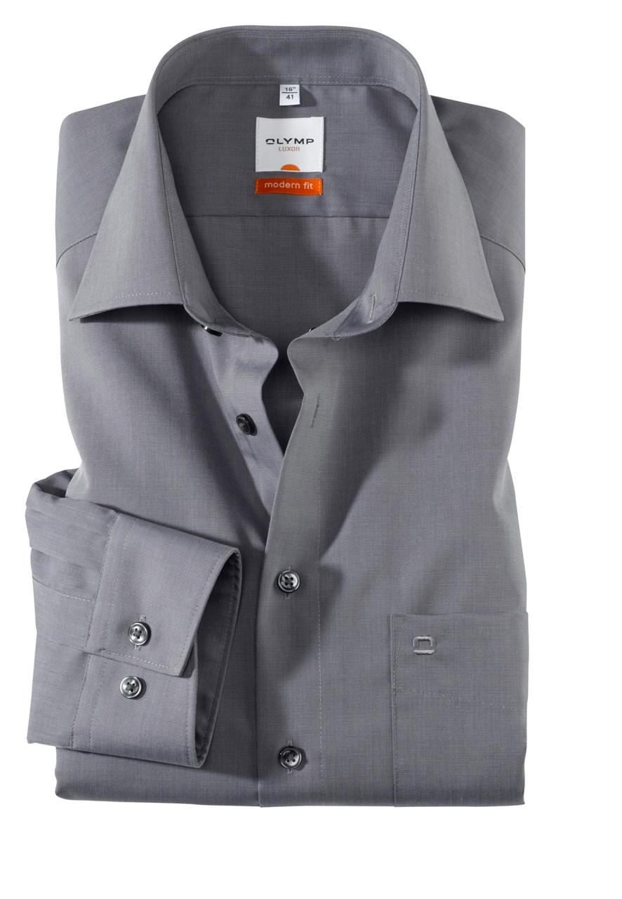 W M EGO. Olymp košile šedá f134aa3cec