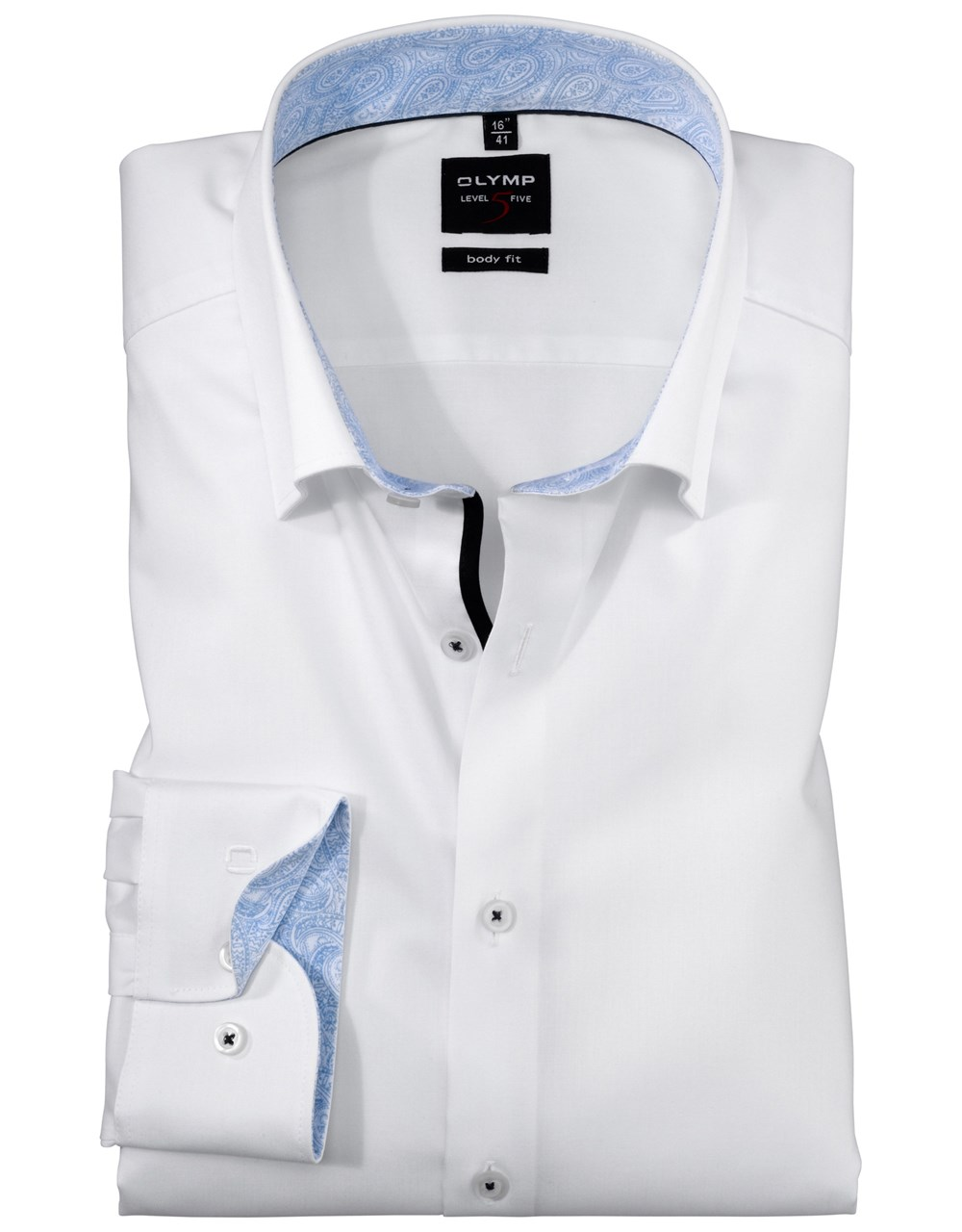W M EGO. Olymp košile bílá 22c6ff3ea5